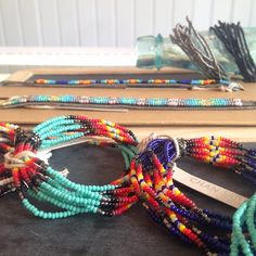 fair trade on the brain? we got you. beaded bracelets made in Kenya by Chan Luu.