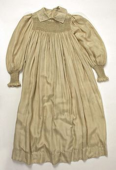 Dress Liberty & Co.  Date: 1890s Culture: British Medium: silk, cotton Accession Number: 1986.115.4