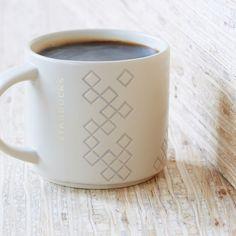 Diamond Pattern Stacking Mug, 14 fl oz. Starbucks Tea, Starbucks Store, Best Coffee, My Coffee, Coffee Mugs, Coffee Snobs, Coffee Cafe, Good Morning Sunshine, Metallic Prints