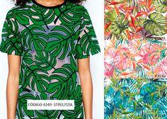 Inspiração do dia  #estampa #estamparia #malha #tendência #nanete #têxtil #moda #verão2016 #devore #devorê www.nanete.com.br