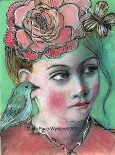 A little secret, by Maria Pace-Wynters