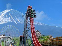 富士急ハイランド行きたい