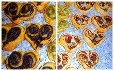 Les receptes que m'agraden: Cors de pasta de full farcida - Corazones de hojal...