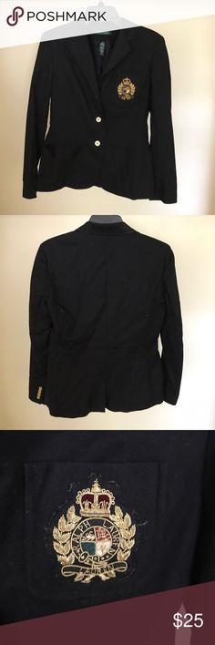 Ralph Lauren Black Blazer Great Blazer! A little wrinkly. Worn handful of times Ralph Lauren Jackets & Coats Blazers