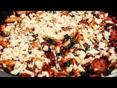 Paste cu cârnați, brânză și spanac - YouTube Paste, Grains, Rice, Youtube, Food, Essen, Meals, Seeds, Youtubers