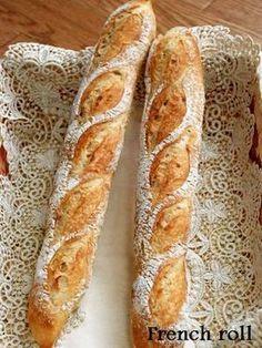 ☆お家にあるもので フランスパン☆ by itarunrun [クックパッド] 簡単おいしいみんなのレシピが256万品
