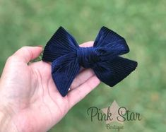 Handmade baby accessories and hair bows by ThePinkStarBoutique