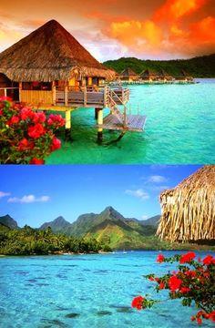 Dream Honeymoon Destination - Bora Bora.