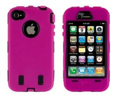 American Girl Doll Printable Phones | eFuture(TM) Hot pink defender body armor cover case fit for iphone 4 ...