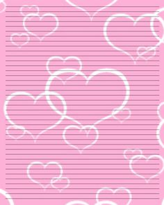 Free Valentines Stationery Paper | Printable Writing Paper