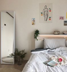 64 Trendy home interior vintage beds Dream Rooms, Dream Bedroom, Cozy Room, Aesthetic Rooms, Trendy Home, My New Room, House Rooms, Room Inspiration, Bedroom Decor