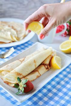 Dairy-free crepes will transport you to France, and provide you with a flavorful breakfast. These crepes are so good you won't even need a filling.