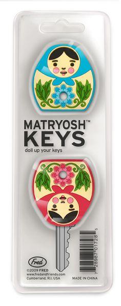 matryoshka key chains [Fred - MatryoshKeys]