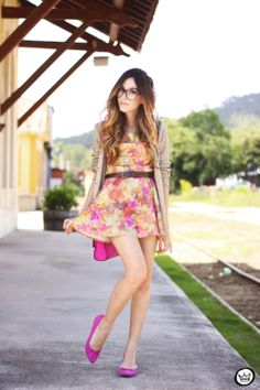 Look du jour: sweet flowers - fashioncoolture.wordpress.com