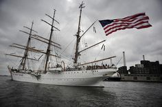 Love this photo of the USCGC Eagle