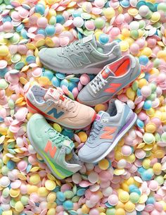 New Balance candy colours <3