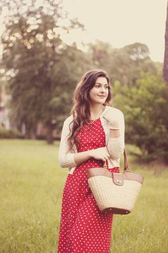 Polka Dots and Pearls | A Walk in the Park