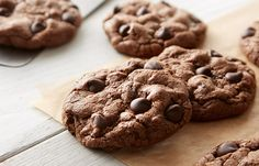 Try this Chewy Brownie Cookies Baking Recipe recipe, made with HERSHEY'S products. Enjoyable baking recipes from HERSHEY'S Kitchens. Hershey Cookie Recipe, Hershey Recipes, Brownie Recipes, Cookie Recipes, Dessert Recipes, Dessert Bars, Chewy Brownies, Brownie Cookies, Brownie Bar