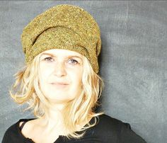 Green+Flecked+Wool+Tweed+Hat+by+13threads+on+Etsy,+£43.00