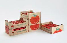 Legajny tomato farm packaging and branding Vegetable Packaging, Fruit Packaging, Packaging Design, Vegetable Farming, Tomato Farming, Farm Fonts, Container Cafe, Farm Logo, Food Stall