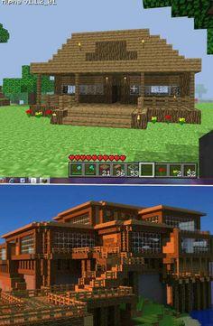 Minecraft home's