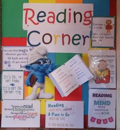 Reading corner ideas for small classrooms