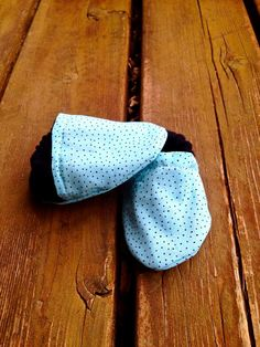 Mint Chocolate Chip Polka Dot Black and Blue by WithinThePines