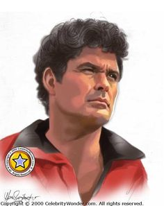 David Hasselhoff drawing art, click here for more pictures: http://celebritywonder.ugo.com/picture/David_Hasselhoff/