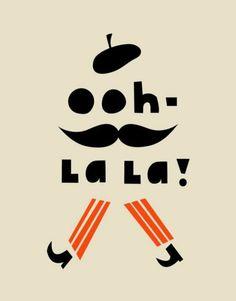 ooh la la! #typography