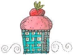The Lunch Box Project: Strawberry Cupcakes