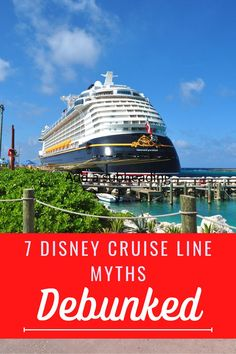 I have heard a lot of myths about cruising on the DIsney Cruise line. I am so thankful I decided to book anyway, as these were all just that...myths! Click to read about them and why they are not true, so you can book your next vacation! #disney #disneycruise #disneycruiseline #castawaycay #cruise Disney World Vacation Planning, Disney Cruise Tips, Couples Vacation, Disney Vacations, Beach Vacations, Best Places To Vacation, Cool Places To Visit, Places To Travel, Us Travel Destinations
