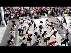"UNF Flash Mob in support of CMN Hospitals (Phi Mu philanthropy) -- 1) This is totally the ""Sh'bam"" dance workout for this song 2) Such a GREAT creative way to do a philanthropy!! And (in theory) unite greek life. =) #winning"
