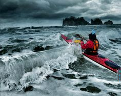 Sea kayaking adventure.