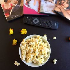 Single Serve Truffle Parmesan Popcorn is and easy and elegant snack for one!