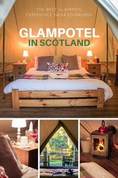 Glamping is a new trend in tourism, a combination of glamor and camping. When it comes to Glamping near Edinburgh we know what is up! Scotland Hotels, Scotland Travel, Glamping Scotland, Edinburgh Travel, Ireland Travel, Bell Tent Camping, Camping Glamping, Kayak Camping, Camping Tips