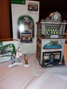 Dept 56 Christmas In The City Lafayette's Bakery & Excellent Taste Christmas In The City, Doctor Office, Department 56, Jukebox, Ebay