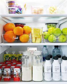 New Kitchen Hacks Storage Refrigerators Organize Fridge 68 Ideas Organisation Hacks, Kitchen Organisation, Clutter Organization, Craft Organization, Kitchen Storage Hacks, Fridge Storage, Refrigerator Organization, Kitchen Hacks, Food Storage