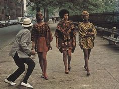 Harlem Queens in Cotton