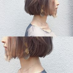 Messy Blonde Balayage Bob - 55 Different Versions of Curly Bob Hairstyle - The Trending Hairstyle Blunt Bob Hairstyles, Short Bob Haircuts, Sleek Hairstyles, Trending Hairstyles, Hairstyles With Bangs, Long Choppy Bobs, Modern Bob Haircut, Blonde Balayage Bob, Coiffure Hair