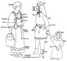 Costume viking féminin
