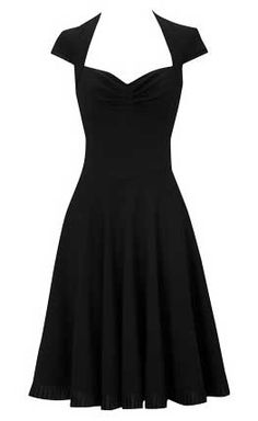 I really, really like the simple but elegant cut of this dress.  50s styles are cute and elegant without being too risque.