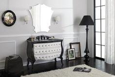 LEGNOBAGNO | Collezione Style 2 VINTAGE 01 Mobile lavabo capitonné con cassetti