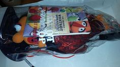Muppets Whatnot Workshop Disney FAO Orange Puppet Kit with Book - Great Shape