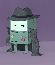 BMO Detective, TOO CUTE! Oh my aint this just amaze balls