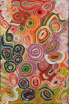 Yaritji Young – 'Ngayuku ngura (My Country)' - Acrylic on linen, 153 x 102 cm. Tjala Arts - Amata - APY Lands