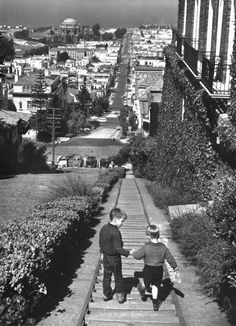 1955 - When kids (& adults) took the stairs