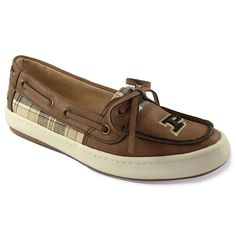 Women's Campus Cruzerz Westwind Purdue Boilermakers Boat Shoes, Size: 8, Brown