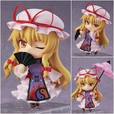 """17.69$  Watch here - http://ali52f.shopchina.info/1/go.php?t=32475105164 - """"Free Shipping Cute 4"""""""" Nendoroid Touhou Project Anime Yukari Yakumo Boxed PVC Action Figure Set Model Collection Toy Gift #442""""  #magazineonline"""