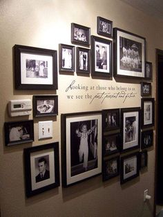 Decorate your wall with photos. Save your memories.