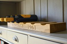 View the exquisite range of Wooden Wine Racks from Make Me Something Special - providers of unique personalised gifts to make a difference.